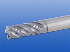 带内冷却通道的精加工波形刃立铣刀