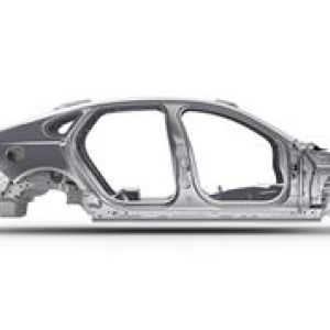Jaguar XFL Body 捷豹XFL 白车身   应用铝合金种类