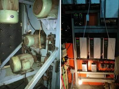 英威腾加弹机电控系统在加弹机上的应用