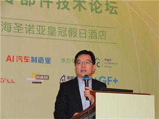 诺贝丽斯(中国)铝制品有限公司董事总经理刘清致辞