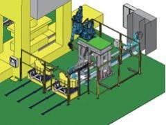 安川机器人在冲压生产线中的自主集成应用