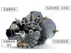 电动机与变速器总成的热管理分析