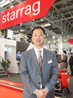 斯达拉格机床(上海)有限公司中国区总经理刘新先生