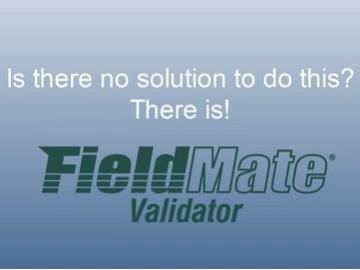 没有办法做这个? 这里有—— FieldMate 校验仪