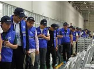参观宁波上中下自动变速器有限公司