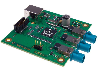 采用most技术的全新智能网络接口控制器支持在汽车应用中实现菊花链
