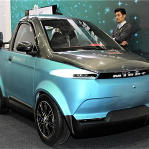聚乳酸造车身 TARC在台展出3D打印电动车