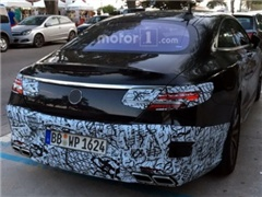 搭载全新发动机 奔驰新款S级Coupe最新谍照曝光