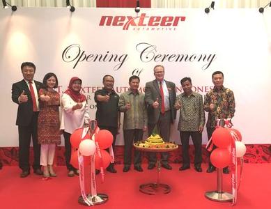 耐世特印度尼西亚工厂开业