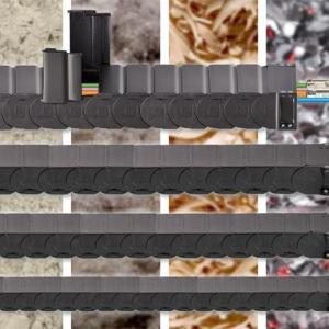 EMO2017:igus新款可快速打开的防碎屑全封闭拖管