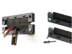 电缆引入可分刷条密封:防尘又防污