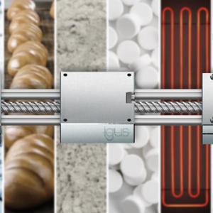 轻松配置:适用于极端工况的igus不锈钢丝杠模组