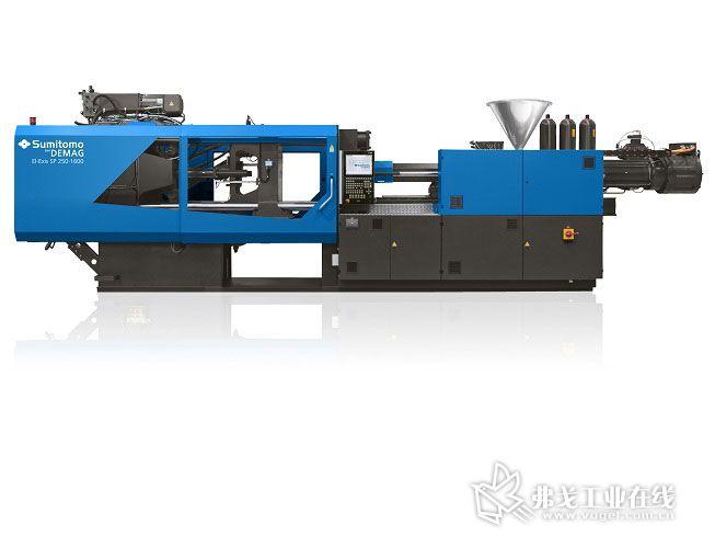 El-Exis SP是市场中用于生产薄壁容器和其他塑料包装的领先的高速注塑机,在Fakuma 展会中,该机器将采用节省材料的注压成型工艺生产由模内贴标(IML)装饰的薄壁盖子