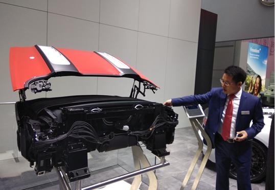 IAA2017:伟巴斯特超凡的创新概念车展示,完美诠释了未来车辆的全新驾乘体验