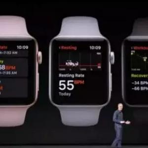 AppleWatch3升级可监测心率功能