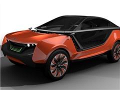 科思创新概念车展示突破性材料科技