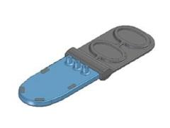 芯片实验室:洁净室微注塑成型的两组分应用