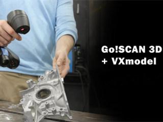 Creaform现推出Go!SCAN 3D™ 及 VXmodel超优惠解决方案