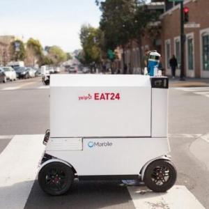 饿了么推出外卖机器人,餐饮O2O企业的「智能物流」战略