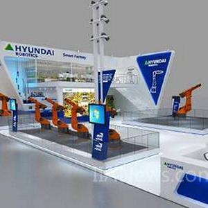 现代机器人将亮相第19届中国工博会