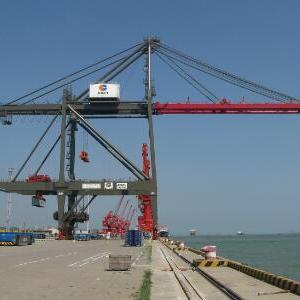 未来的自动化港口物流