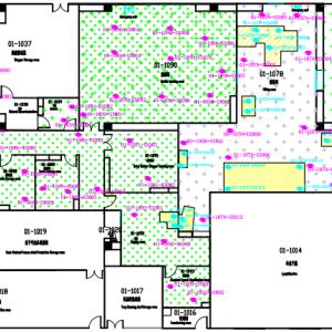 建立冻干粉针剂车间微生物地图