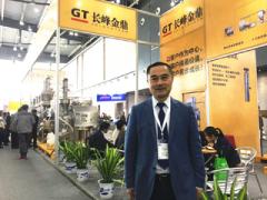 2017秋季药机展 访北京长峰金鼎科技有限公司总经理 邵天君先生