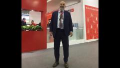 2017秋季药机展 访伊马常务董事 Maurizio Ferretti先生