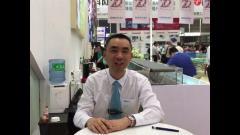 CeMAT2017:访浙江德马工业设备有限公司副总经理 金春晖先生