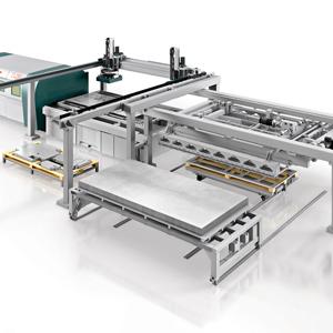 L3光纤激光切割机+ ADL自动上下料装置