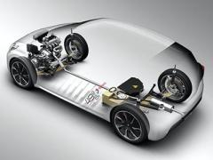 采用玻纤复合材料设计的汽车前轴
