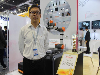 杭州海康机器人技术有限公司国内营销部总经理吴尧先生