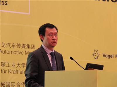中国机械国际合作股份有限公司总经理韩晓军先生致辞