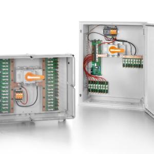 PUSH IN联接系统融合每支组串