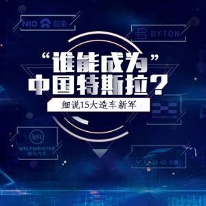 谁能成为中国特斯拉?细说15大造车新军