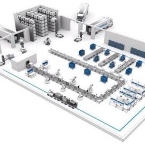 无人搬运仓储机器人 促进物流业快速发展