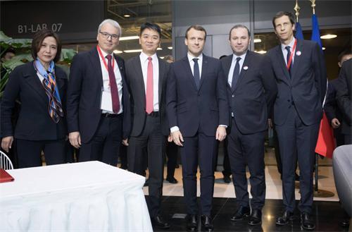马克龙总统首次访华,见证了法国著名的工业集团法孚与中国最大的零售商京东签署战略合作协议