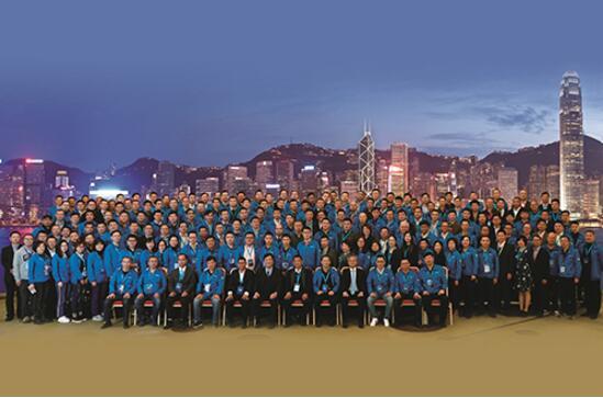 台达高管及各产品开发处、大区总监,相关职能部门负责人,与来自台达机电中国区渠道商代表共200余人合影留念