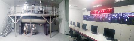 图3 无尘筛分、总混、出料计量中控室(MES、组态监控、CCTV监控)