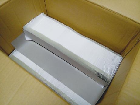 图1 纸箱内小盒排列方式
