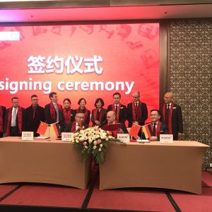凯傲集团与浙江中力机械同意达成战略伙伴关系