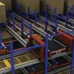 穿梭车穿梭式货架与RFID的结合使用可提高30%效率