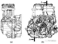 小型车混合动力装置的开发