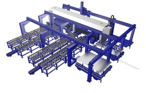 全自动激光拼焊生产线