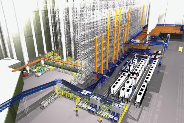 采用欧特克股份有限公司的工厂设计所生成的方案和设备布局可实现高效的