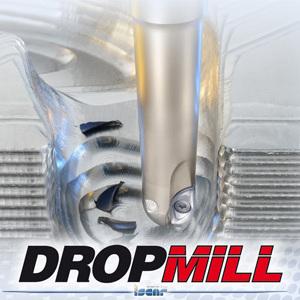伊斯卡:BLP DROPMILL球头铣刀系列&BLPK DROPMILL球头玉米铣刀系列