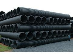 全面优于钢筋混凝土管的PE排水排污管