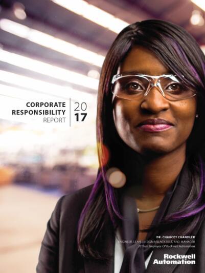 2018 罗克韦尔自动化第十年成为世界最具商业道德公司 Cover