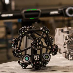 CCMT2018:形创MetraSCAN 3D 光学CMM扫描仪及HandySCAN 3D激光扫描仪