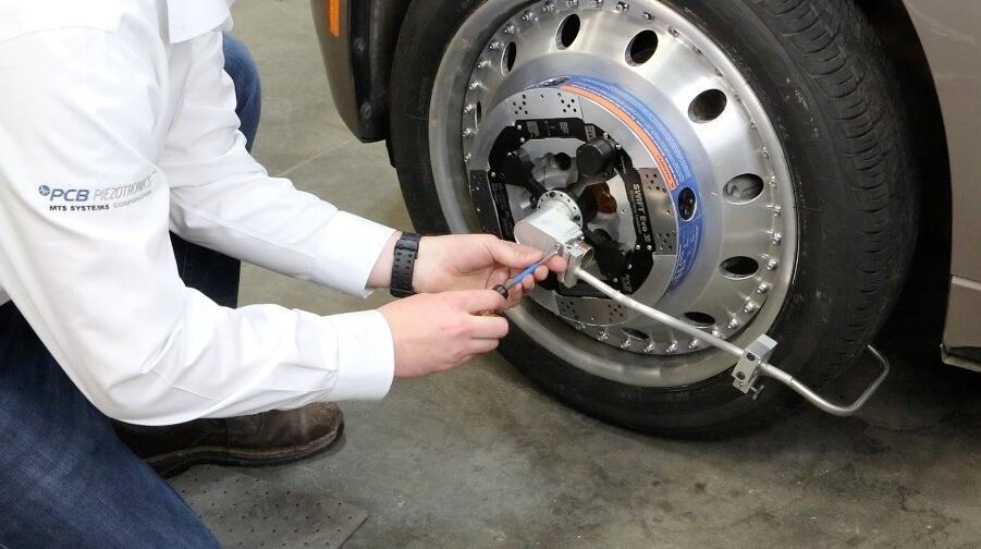 MTS®公司和PCB®公司SWIFT® Evo车轮六分力传感器